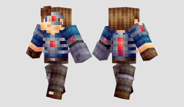 Redstoner Skin para Minecraft