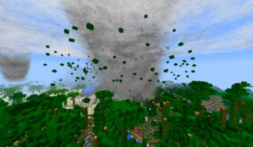 Weather, Storms & Tornadoes Mod para Minecraft 1.12.1 y 1.12.2