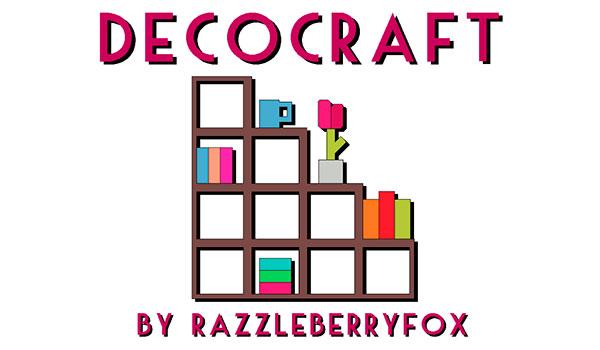 DecoCraft Mod para Minecraft 1.12.2