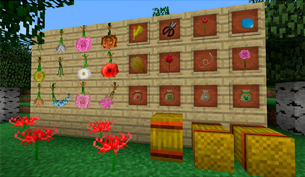 Floricraft Mod para Minecraft 1.12 y 1.12.2