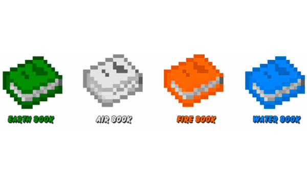 Magic Books Mod para Minecraft 1.12, 1.12.1 y 1.12.2
