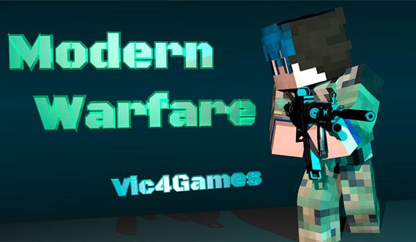 Modern Warfare Mod para Minecraft 1.12.2