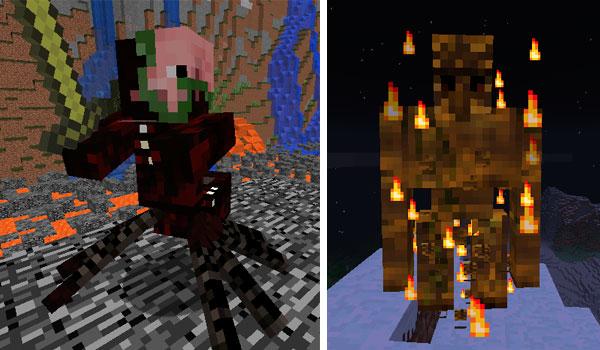 Mutated Mobs Mod para Minecraft 1.12, 1.12.1 y 1.12.2