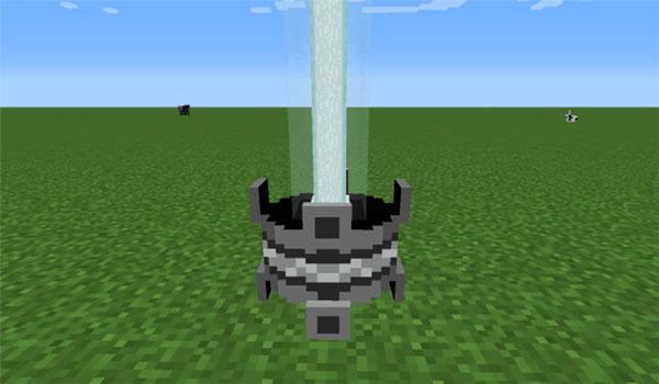 Imagen donde podemos ver un ejemplo de foco o láser que podremos personalizar con el mod The Spotlight 1.12, 1.12.1 y 1.12.2.