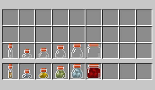 Vials Mod para Minecraft 1.12, 1.12.1 y 1.12.2