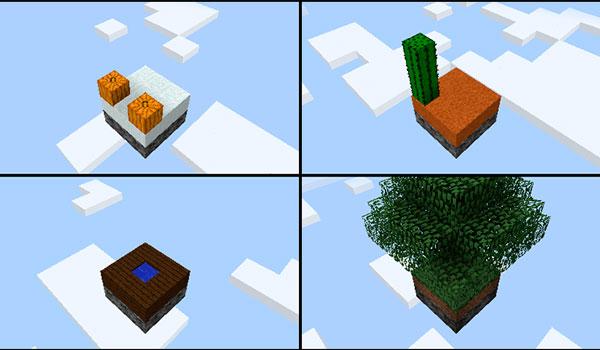 Void Island Control Mod para Minecraft 1.12, 1.12.1 y 1.12.2