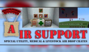 Air Support Mod para Minecraft 1.12.2