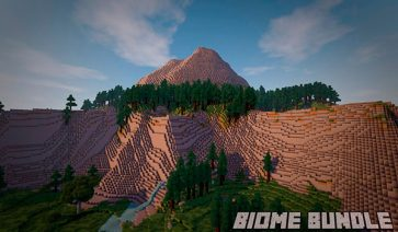 Biome Bundle Mod para Minecraft 1.12.2