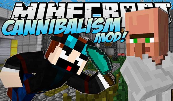 Cannibalism Mod para Minecraft 1.12.2