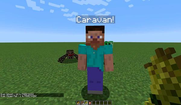 Caravans Mod para Minecraft 1.12, 1.12.1 y 1.12.2