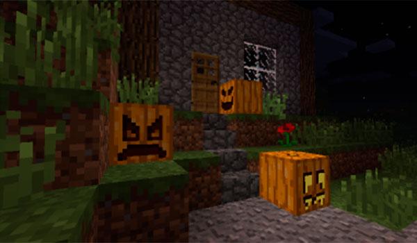 Carvable Pumpkins Mod para Minecraft 1.12, 1.12.1 y 1.12.2