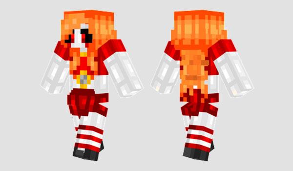Circus Baby Skin para Minecraft