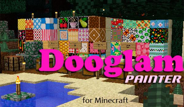 Dooglamoo Painter Mod para Minecraft 1.12, 1.12.1 y 1.12.2
