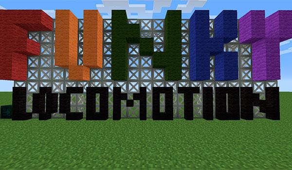 Funky Locomotion Mod para Minecraft 1.12, 1.12.1 y 1.12.2