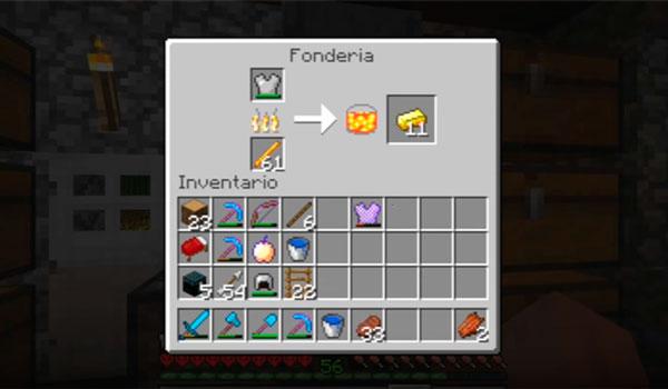 Giacomo's Foundry Mod para Minecraft 1.12.2