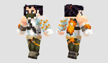 Hanzo Skin para Minecraft