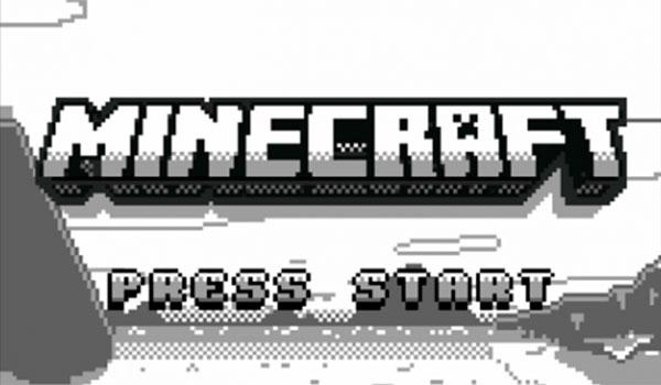 Así podría haber sido Minecraft en la Game Boy clásica