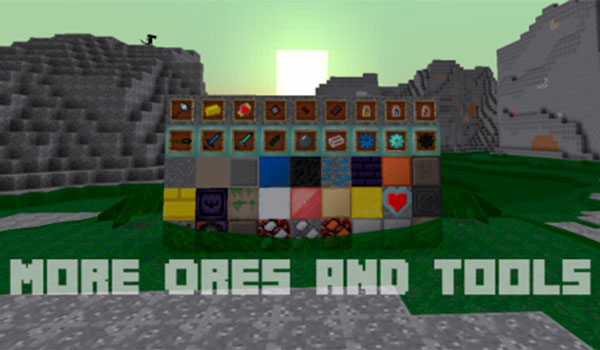 Mo' Ores And Tools 1.12.2