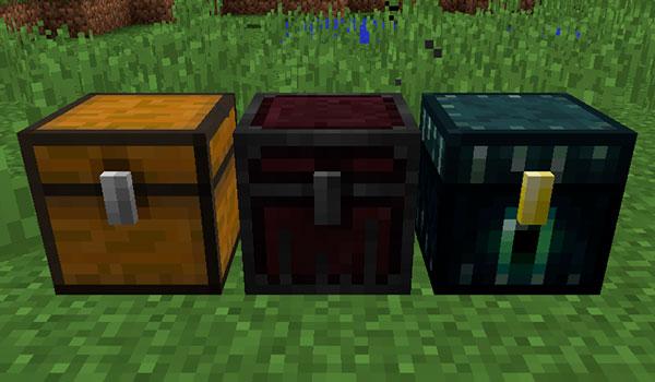 Nether Chest Mod para Minecraft 1.12, 1.12.1 y 1.12.2