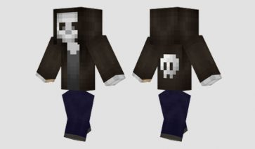 Skull Hoodie Skin para Minecraft