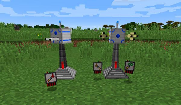 Turret Mod para Minecraft 1.12, 1.12.1 y 1.12.2