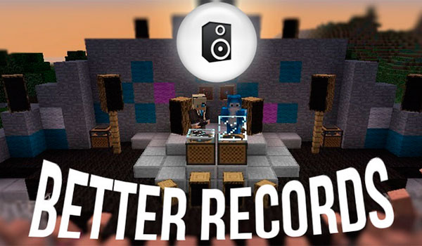 Better Records Mod para Minecraft 1.12.2