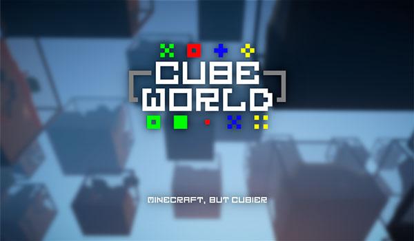 Cube World Generator Mod para Minecraft 1.12, 1.12.1 y 1.12.2