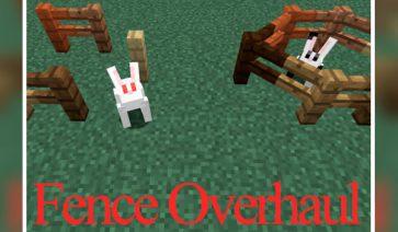 Fence Overhaul Mod para Minecraft 1.12, 1.12.1 y 1.12.2
