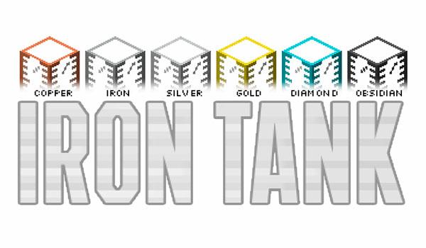 Iron Tanks Mod para Minecraft 1.12.2