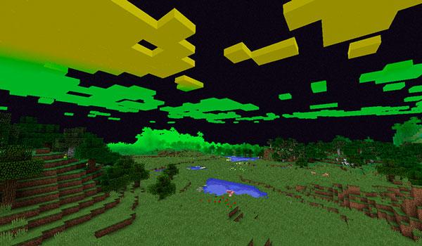 Imagen donde podemos ver un ejemplo de una dimensión personalizada con el mod Just Enough Dimensions 1.12, 1.12.1 y 1.12.2.