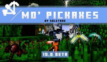 Mo' Pickaxes Mod para Minecraft 1.12.2