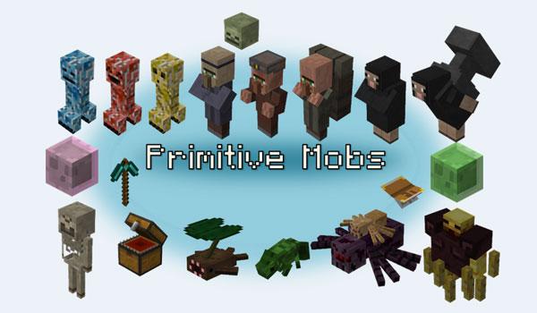 Primitive Mobs Mod para Minecraft 1.12, 1.12.1 y 1.12.2