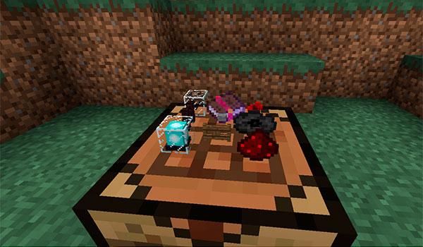 Real Bench Mod para Minecraft 1.12 y 1.12.2
