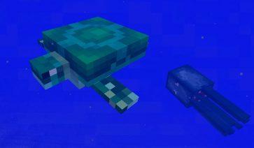Spoiler Minecraft 1.13: Tortugas marinas