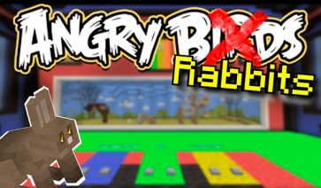 Angry Rabbits Map para Minecraft 1.12 y 1.11
