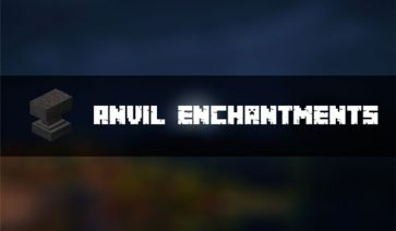 Anvil Enchantments Mod para Minecraft 1.12.2