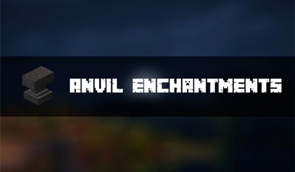 Anvil Enchantments Mod para Minecraft 1.12.2