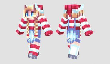 Candy Canes Skin para Minecraft