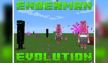 Enderman Evolution Mod para Minecraft 1.12.2