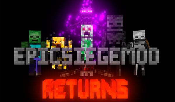 Epic Siege Mod para Minecraft 1.12.2