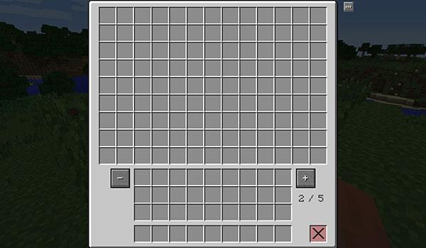 Multi Page Chest Mod para Minecraft 1.12, 1.12.1 y 1.12.2