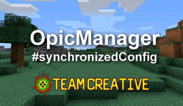 Optic Manager Mod para Minecraft 1.12, 1.12.1 y 1.12.2