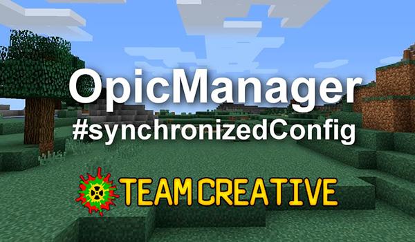 Optic Manager Mod para Minecraft 1.12, 1.12.1 y 1.12.2