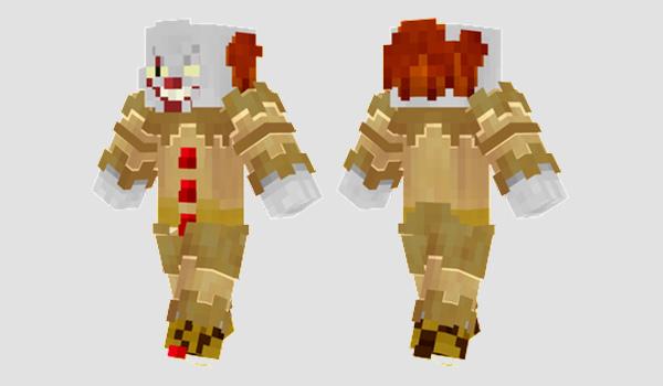 Pennywise Skin para Minecraft
