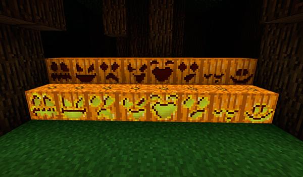 Pumpkin Carving Mod para Minecraft 1.12, 1.12.1 y 1.12.2