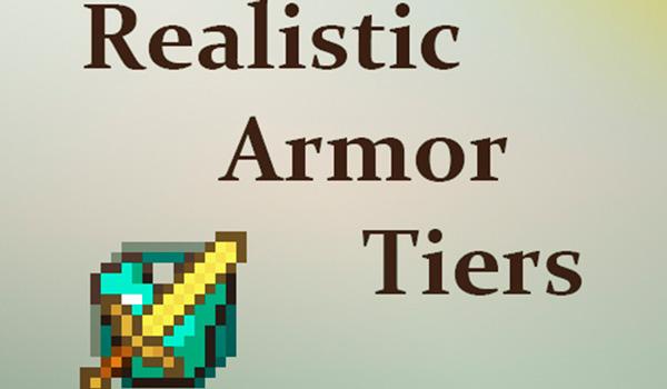 Realistic Armor Tiers Mod para Minecraft 1.12.2