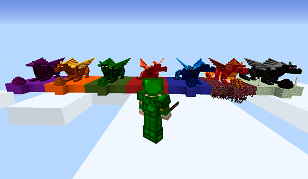 Realm of The Dragons Mod para Minecraft 1.12 y 1.12.2