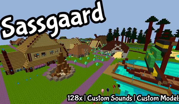 Sassgaard Texture Pack para Minecraft 1.12