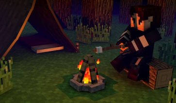 The Camping Mod para Minecraft 1.12.2