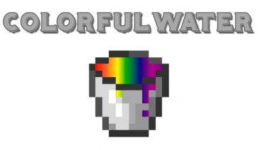 Colorful Water Mod para Minecraft 1.12.2